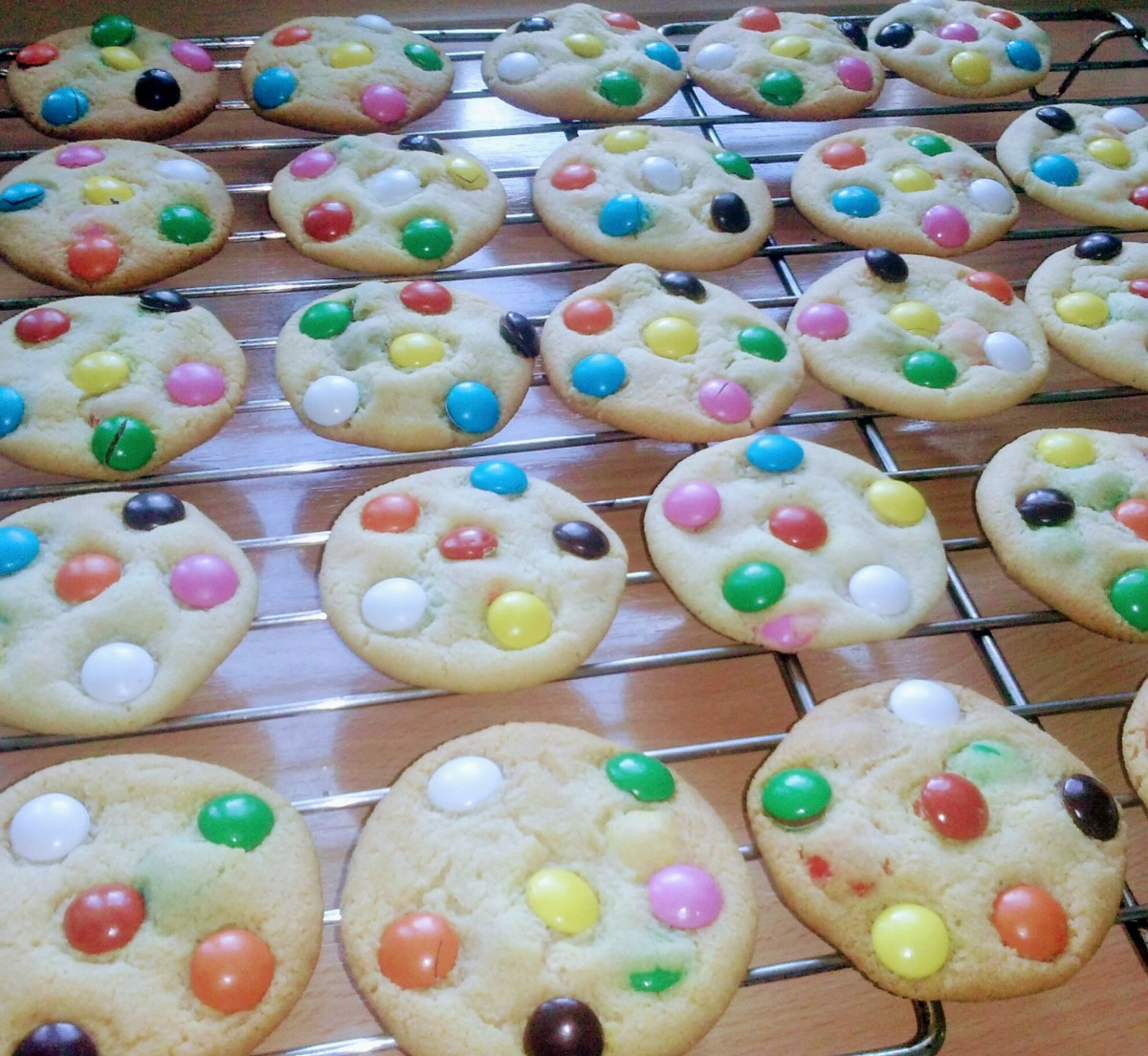 Smartie Cookies - Quick, Easy & Delicious