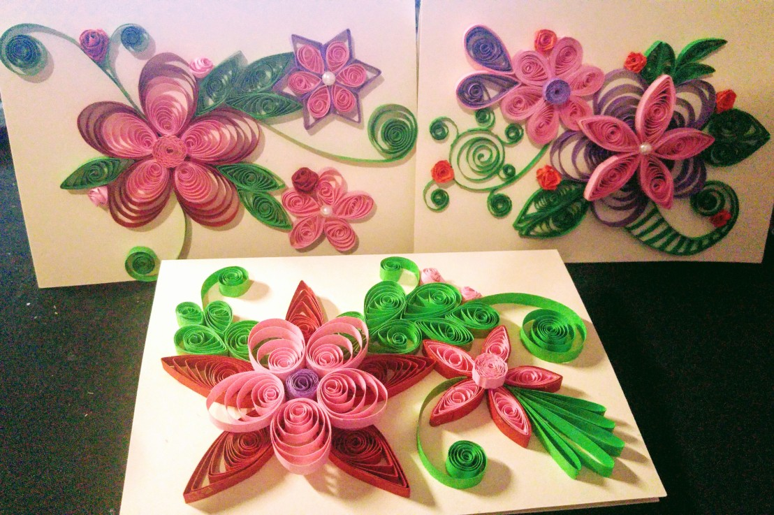 More papercrafts… cards!