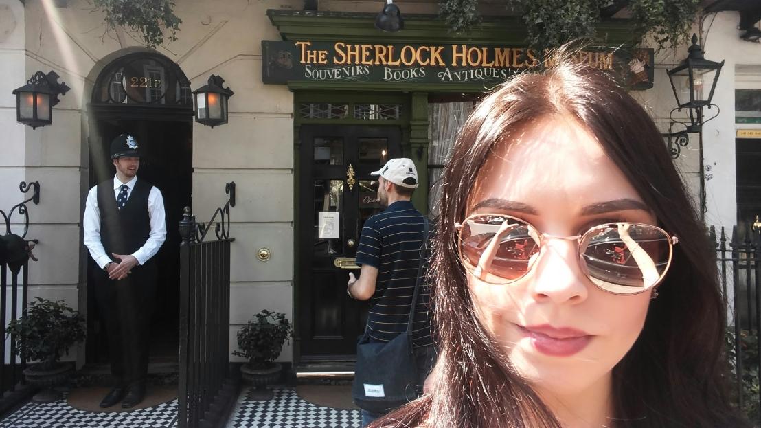 Baker Street 221B - Sherlock Holmes house in London