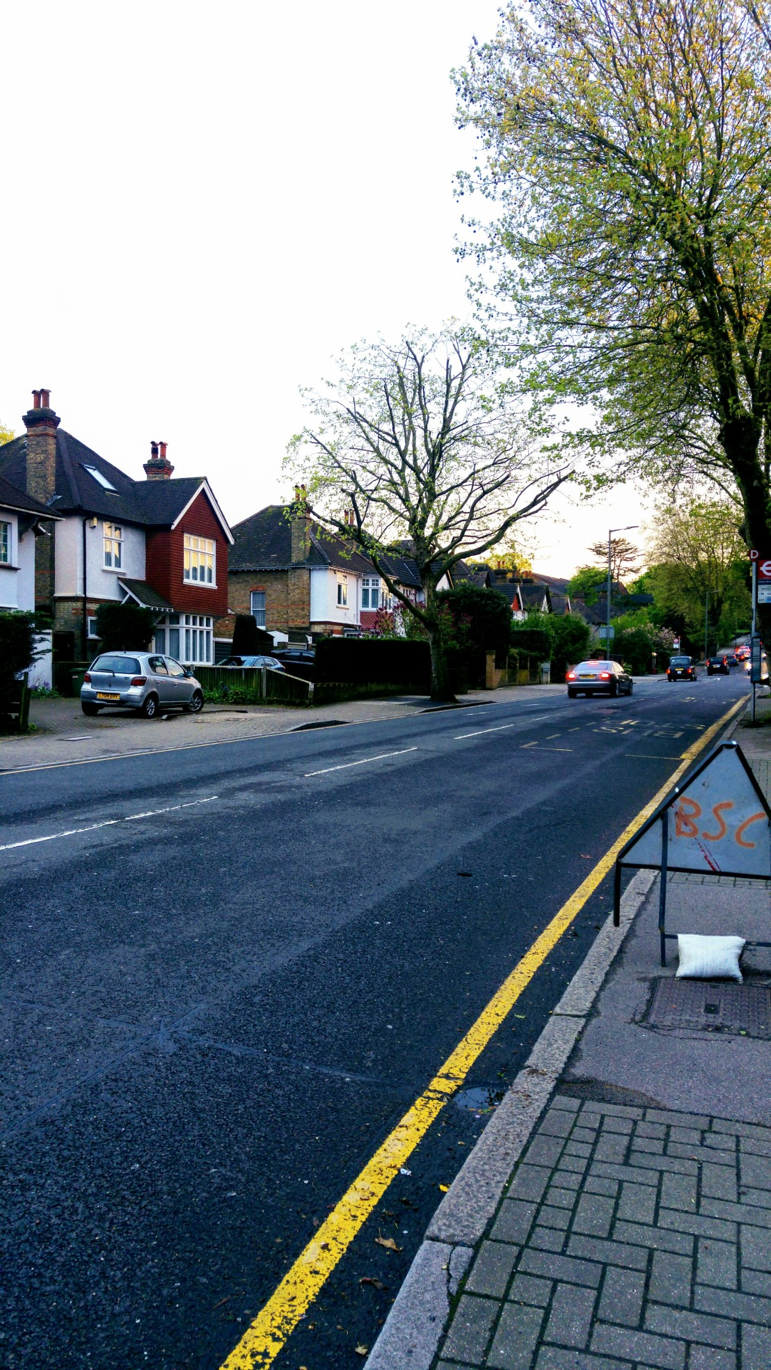 A road in Bromley, London