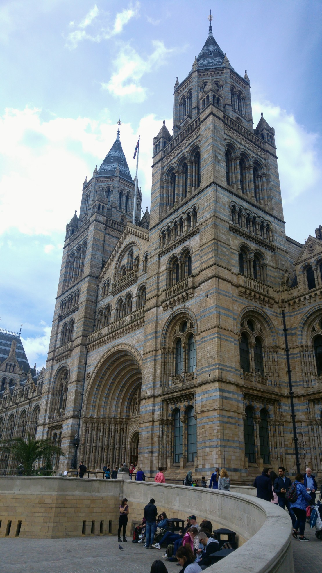 Natural history museum in London - outside