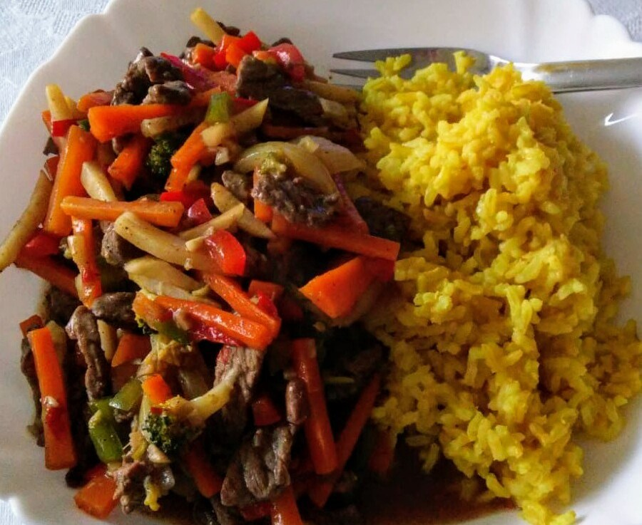 Chinese Five Spice BeefStir-Fry