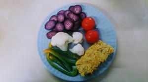 Red lentil vegetarian pate