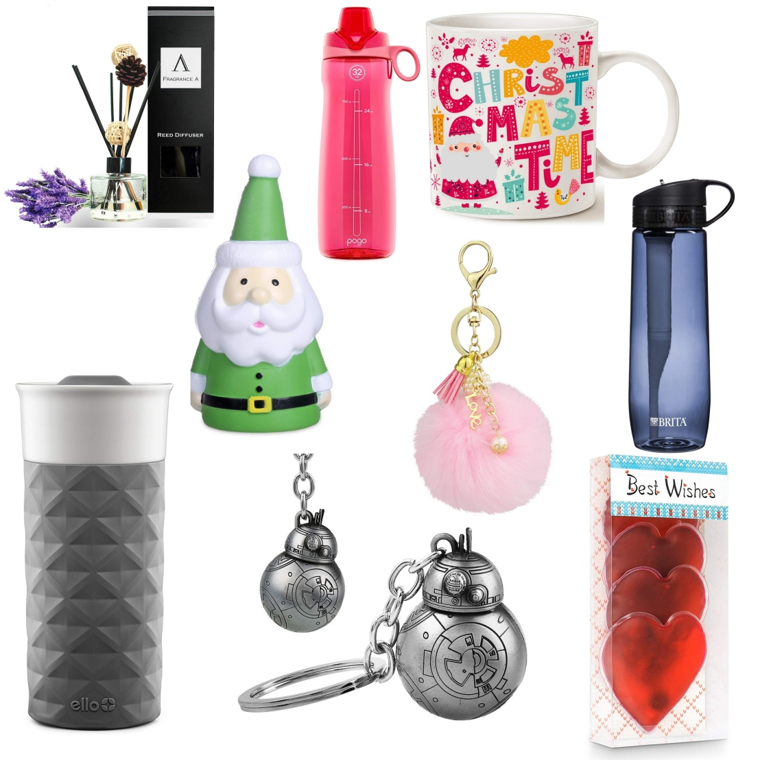 A collage of stocking filler ideas - part 2