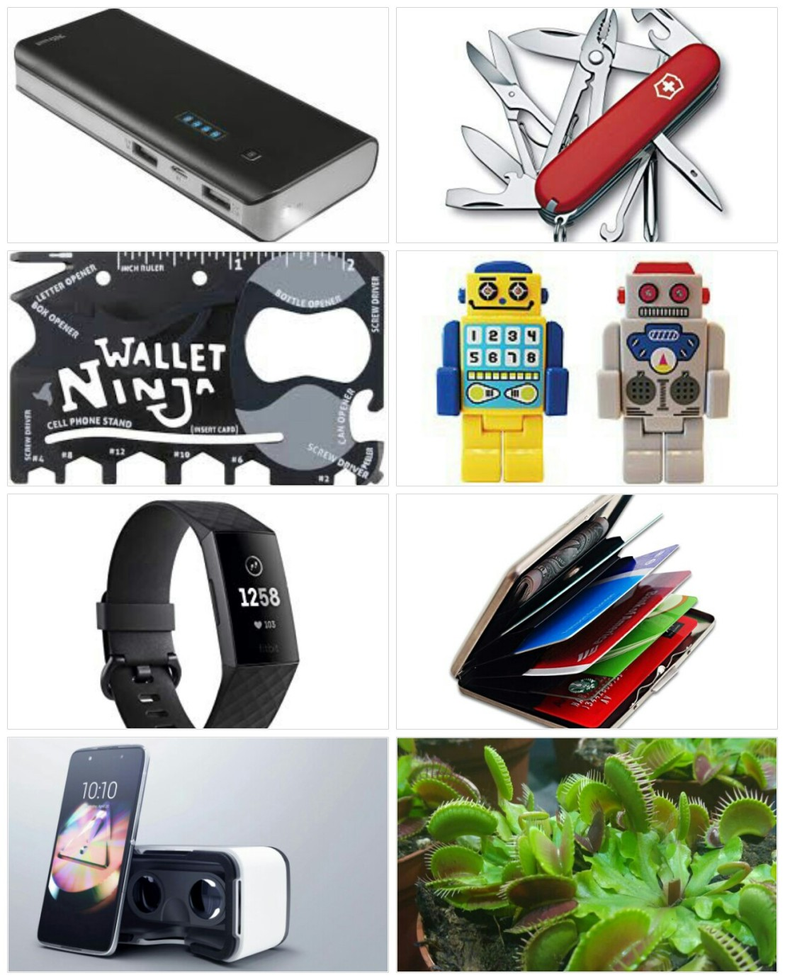 A collage of Christmas gift ideas for him - part 2