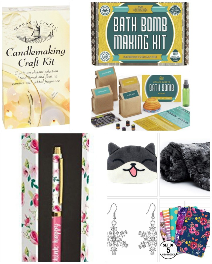 A collage of Christmas gifts ideas for her - part 2