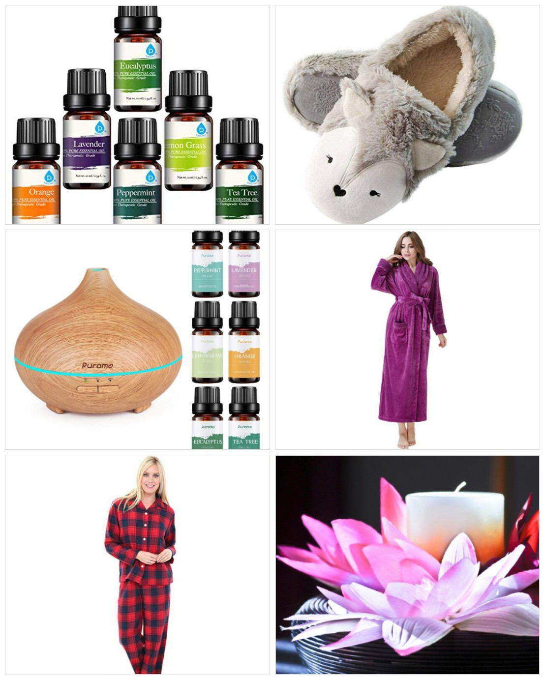 A collage of Christmas gift ideas for parents - part 2