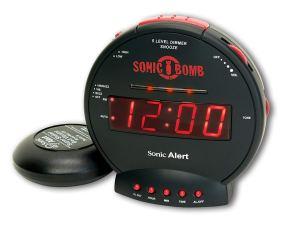 Bizarre alarm clocks - sonic bomb