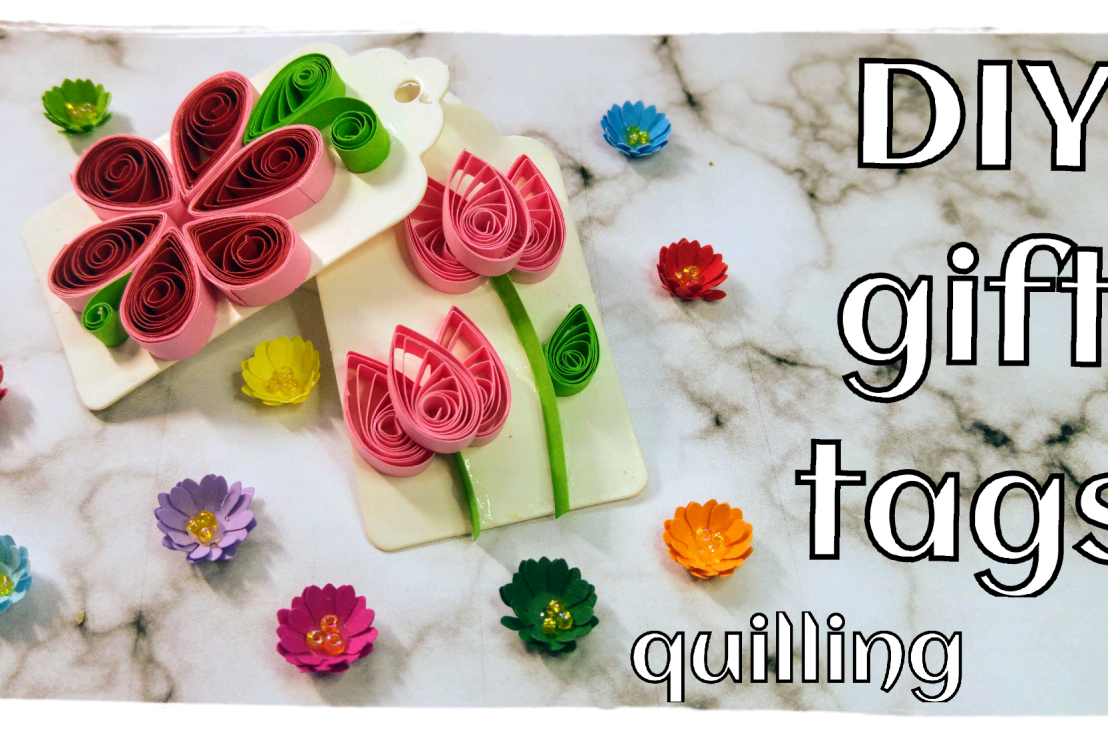 DIY Quilling GiftTags