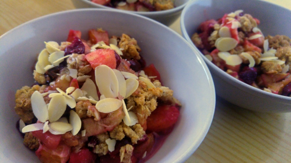 The Best Fruit Crumble With Oats