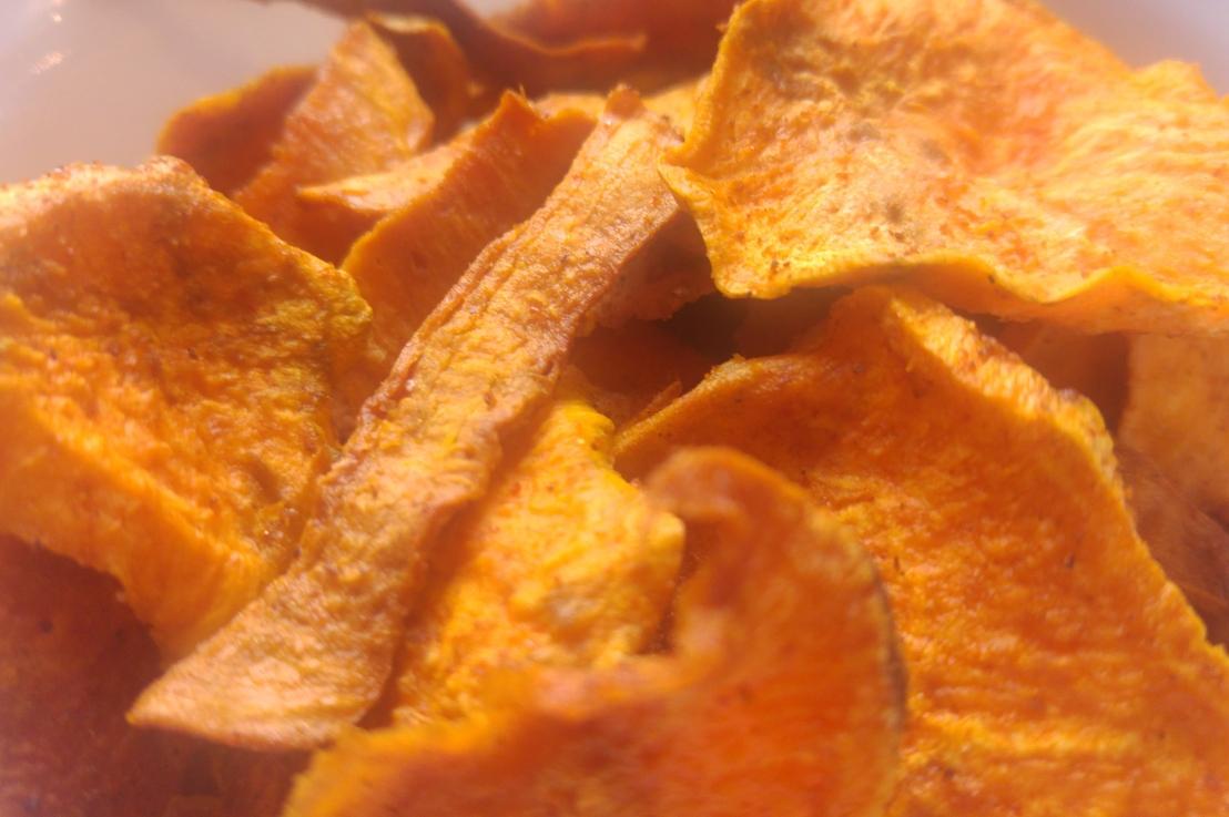 Sweet Potato Oven BakedCrisps