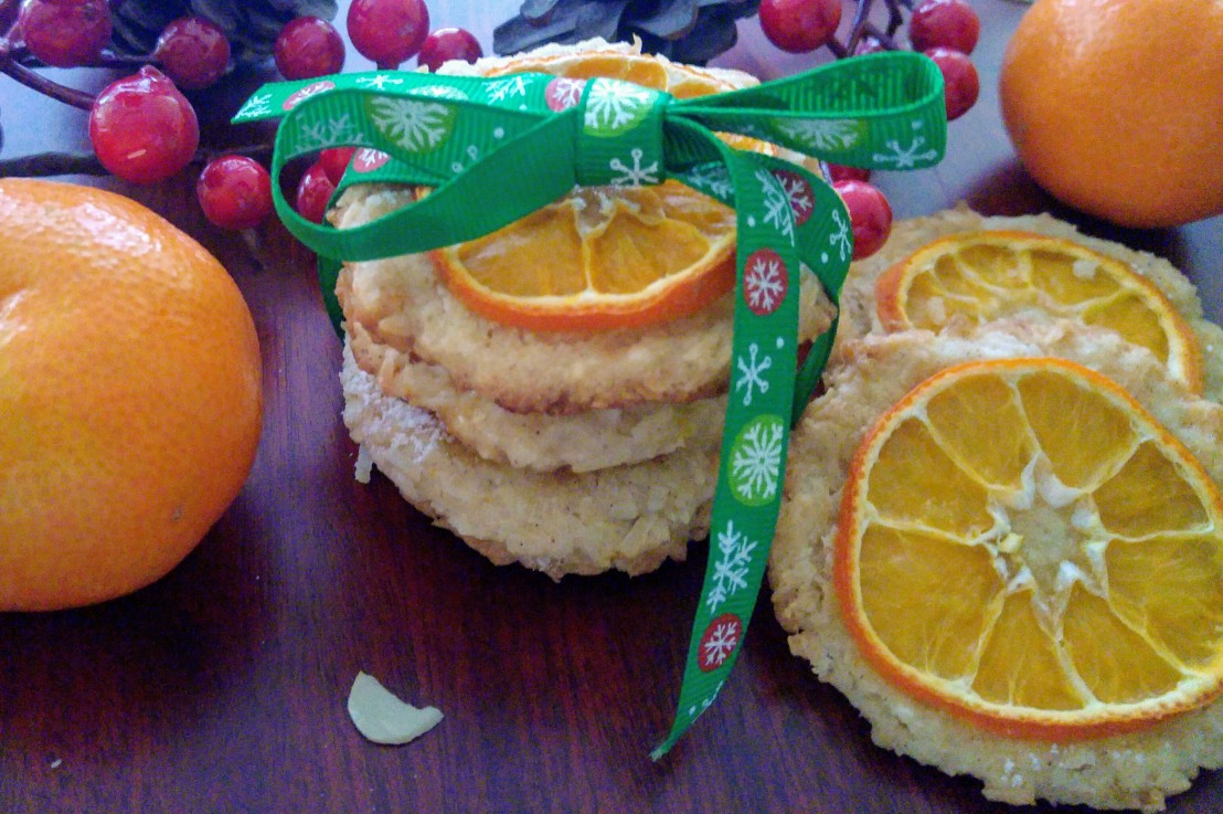Tangerine Cookies with Coconut – New Taste ofChristmas