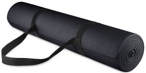 Useful fitness accessories - yoga mat