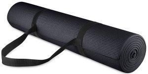 Useful fitness accessories - yoga mat