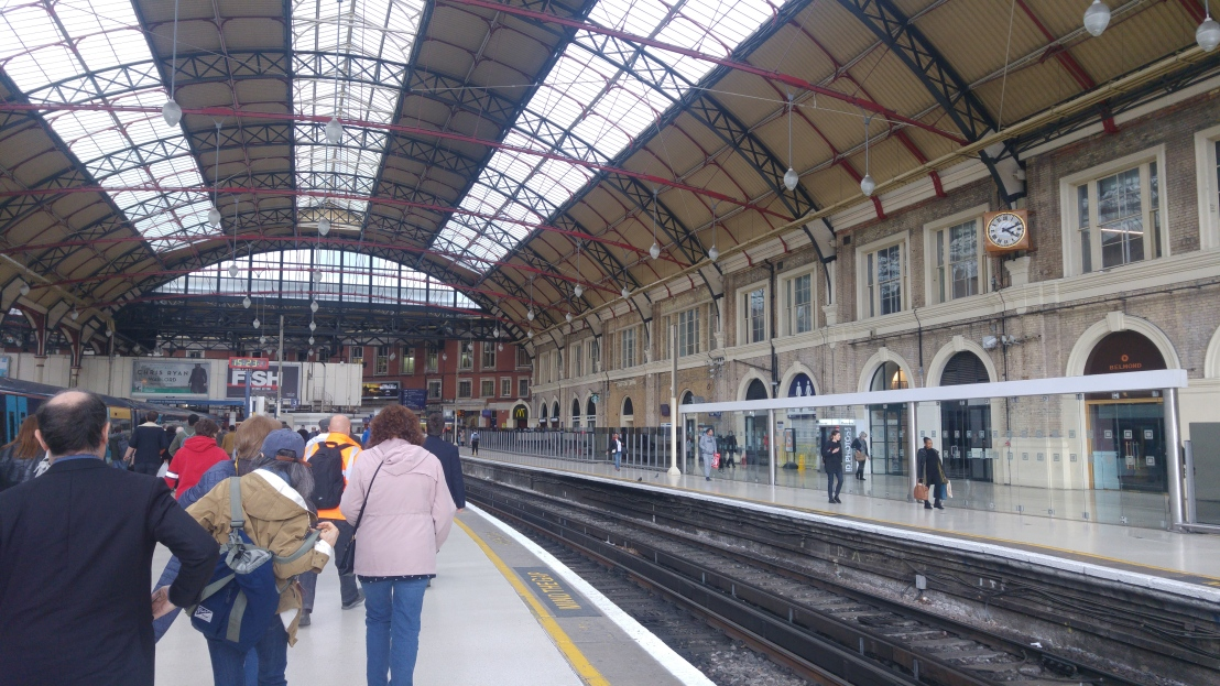 London trip - Victoria station