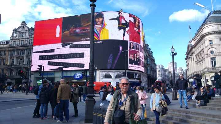 London trip - Piccadily Circus