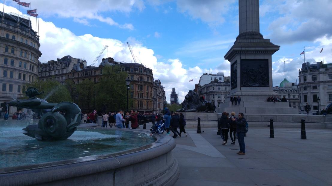 London trip - Trafalgar Square
