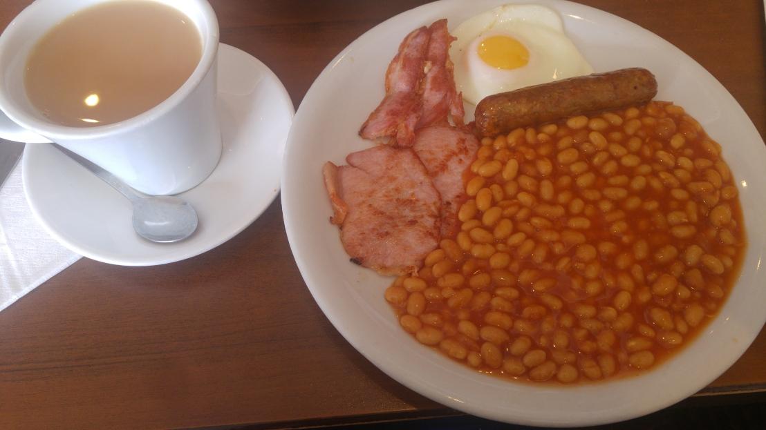 London trip - full English breakfast