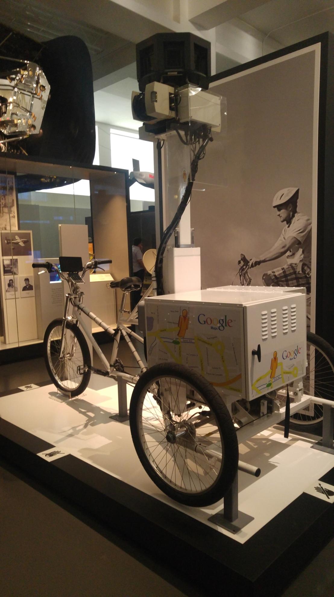 London trip - Science museum - Google bike