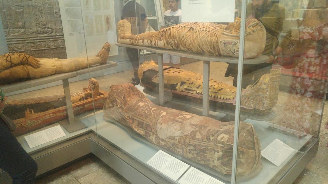London trip - British museum - mummies