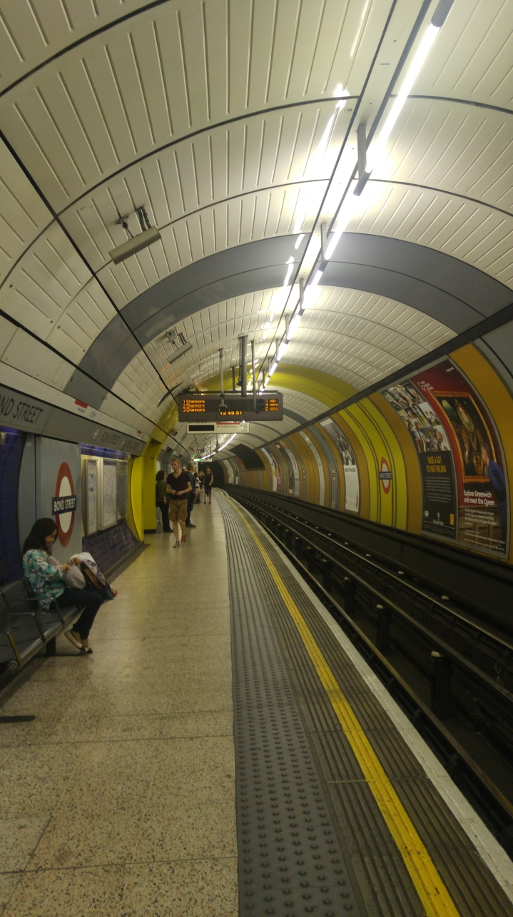 London trip - the tube