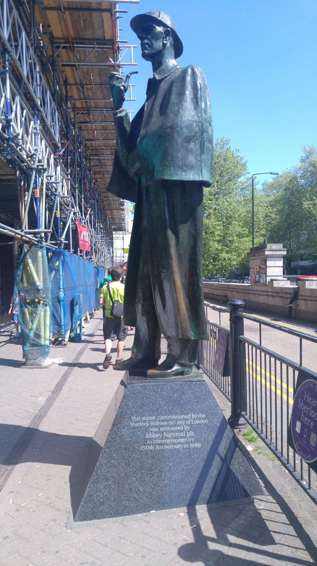 London trip - Sherlock Holmes statue