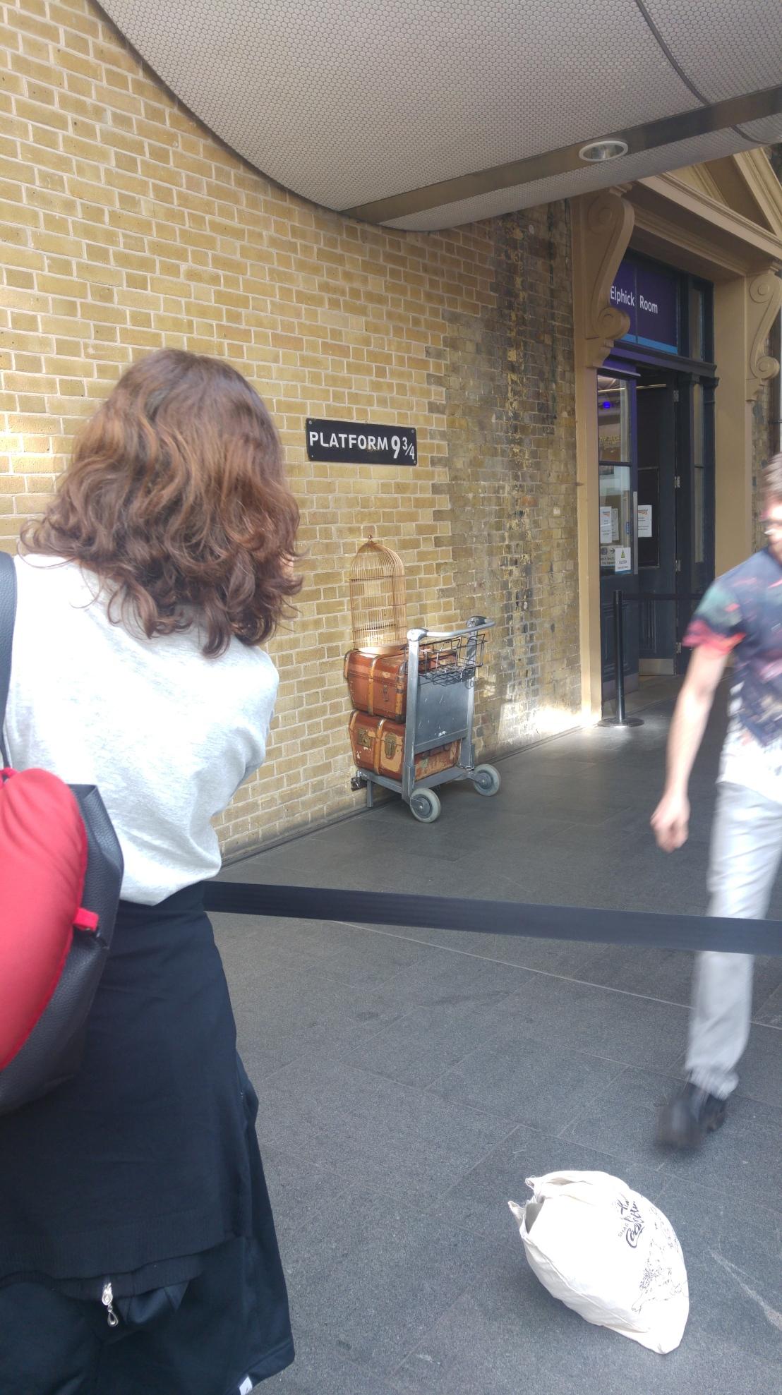 London trip - King's Cross Platform 9 3/4
