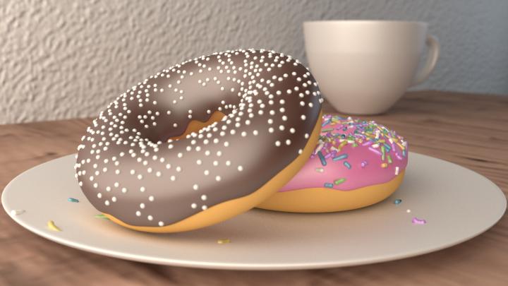 Blender-doughnut
