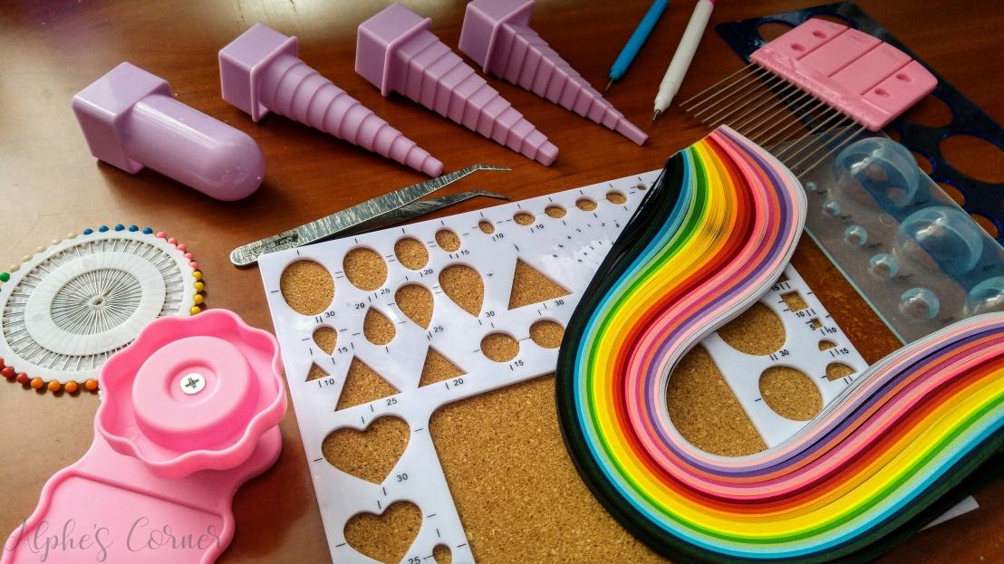 Aliexpress craft supplies - quilling supplies