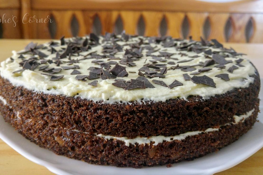 Carrot Cake With White ChocolateCream