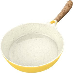 Useful kitchen utensils - ceramic pan