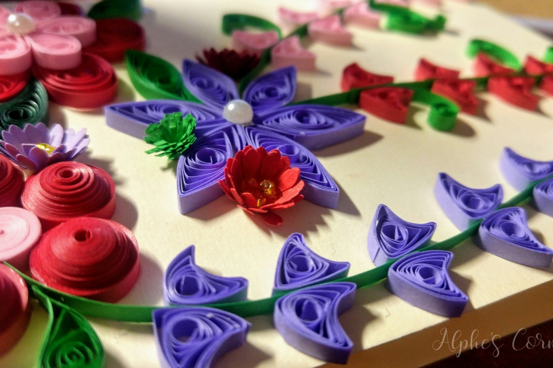 Quilling Card – Grandmother's Day