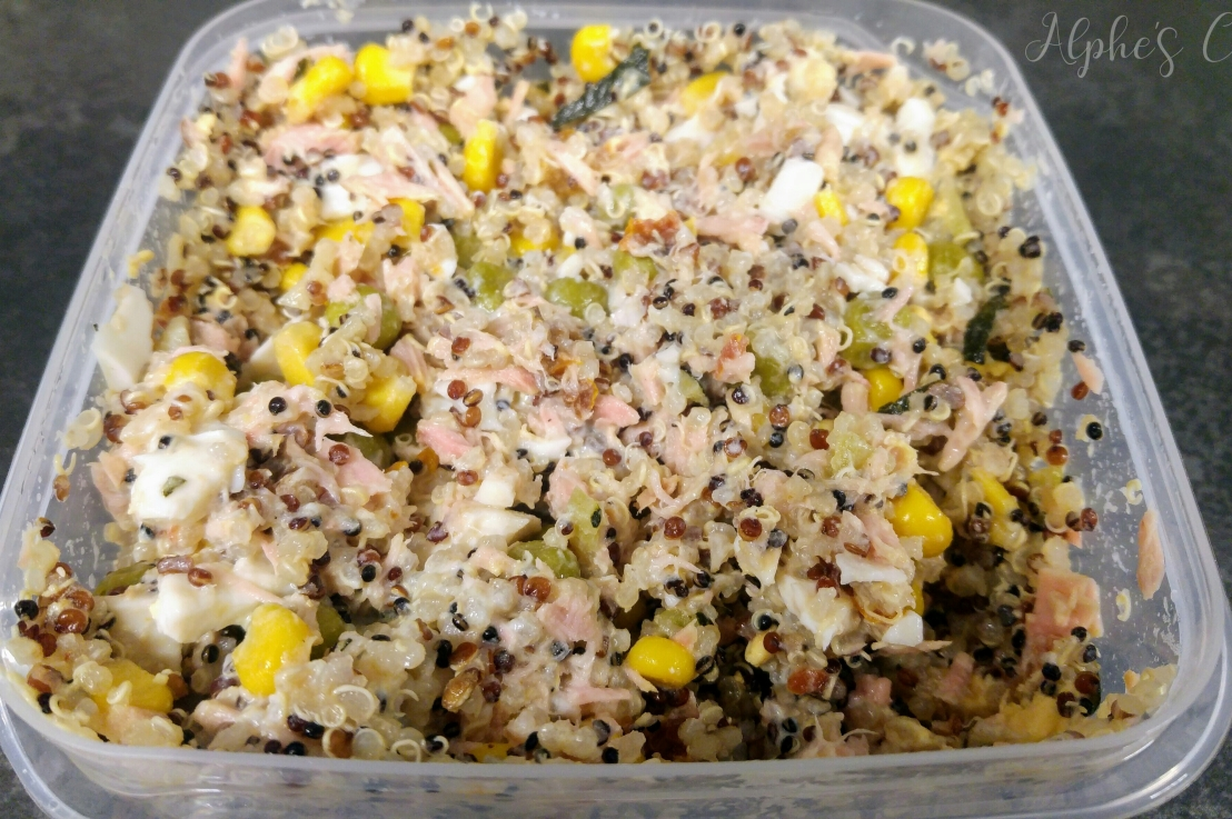 Quinoa And Tuna Salad – Healthy Lunchbox – OfficeFood