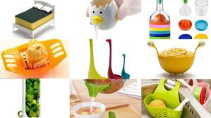 Useful kitchen tools - collage