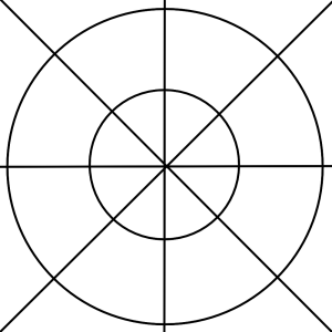 Mandala drawing diagram