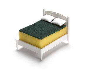 sponge-bed