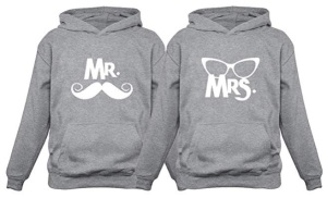 Valentine gift ideas - mr and mrs jumpers