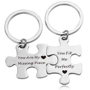 Valentine gift ideas - matching keychains