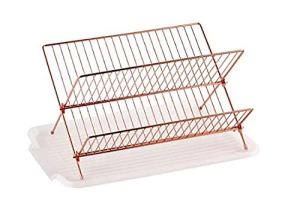 Rose gold kitchen accessories - dish drainer