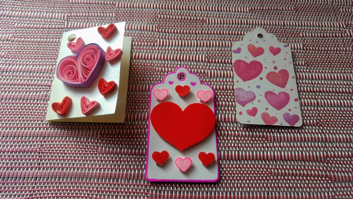 DIY Valentine Gift Tags
