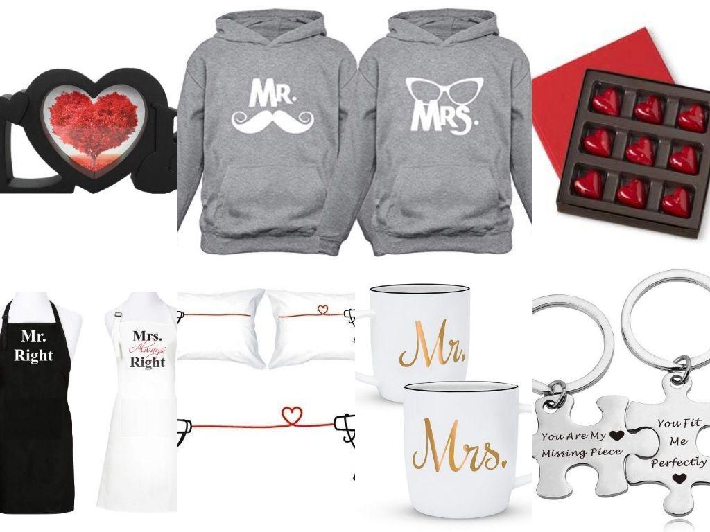 Valentine gift ideas - collage