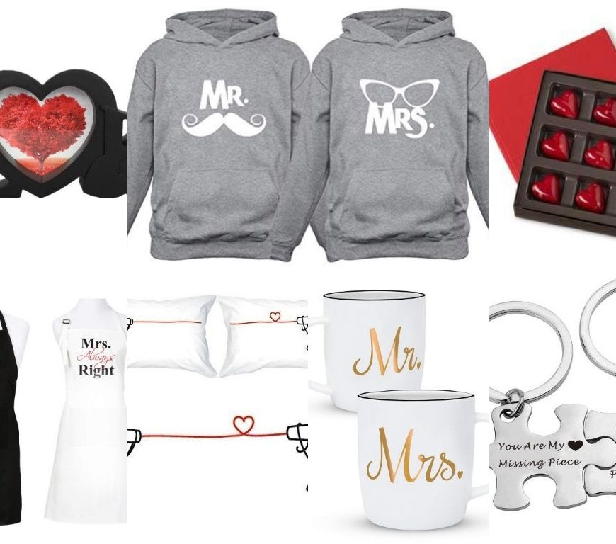 Valentine gift ideas - collage