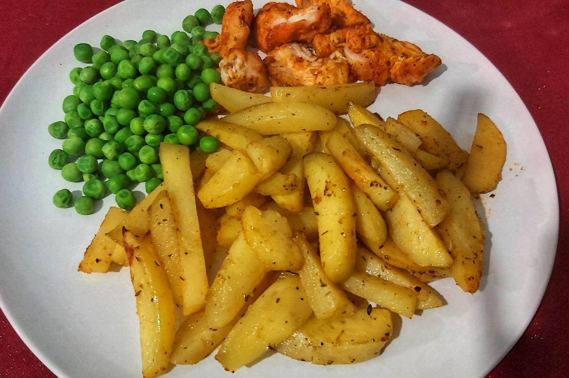 Healthy Oven Baked Chips – PotatoWedges