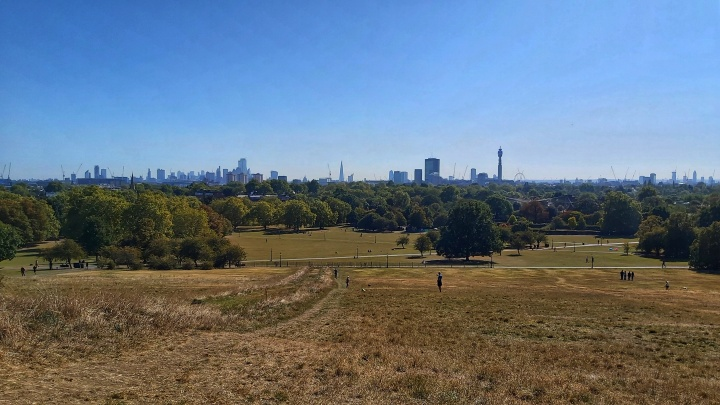 Panoramic view from