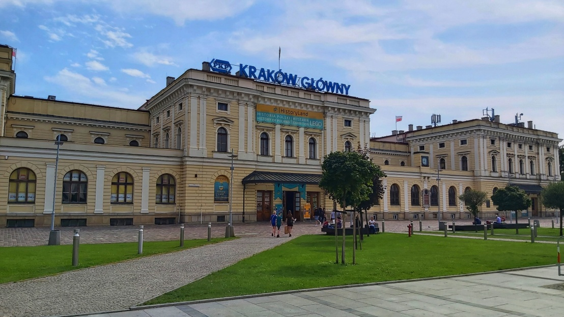 Cracow Trip - Main railway station