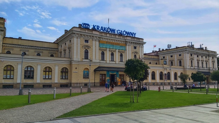 Cracow Trip - Main railway station
