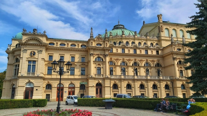 Cracow Trip - Juliusz Slowacki theatre