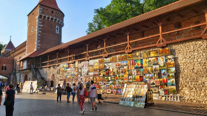 Cracow Trip - St Florian's Gate, Barbican