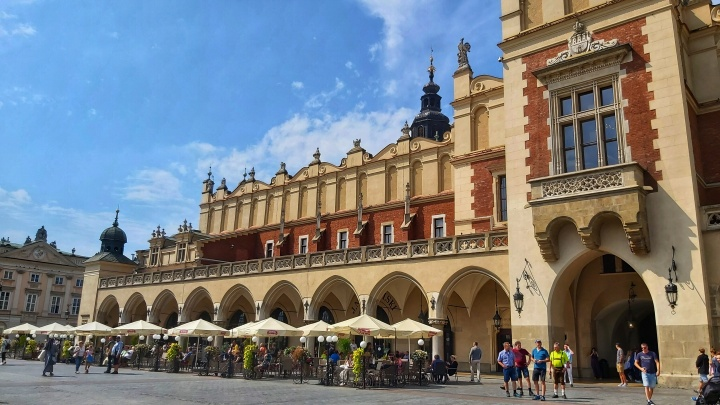 Cracow Trip - the outside of the Cloth Hall, Sukiennice