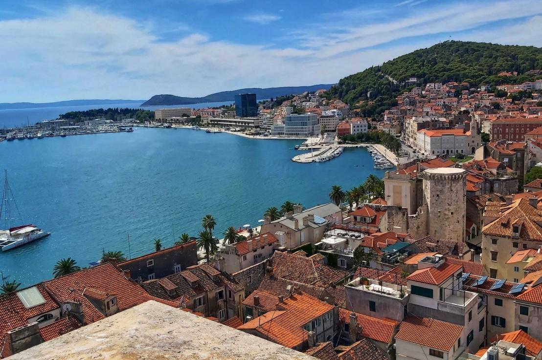 A Day in Split,Croatia